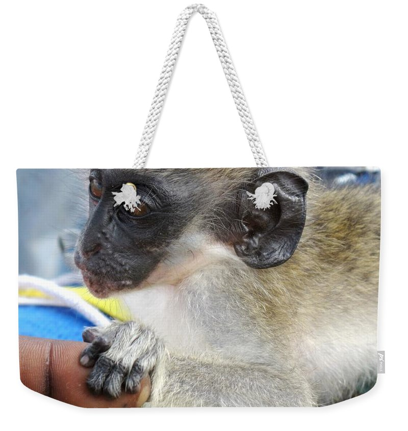 Verdant Weekender Tote Bag featuring the photograph Holding Hands by Ian MacDonald