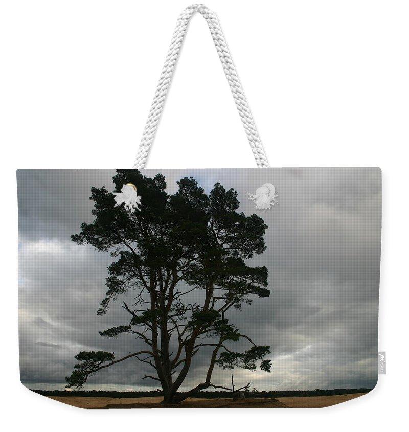 Storm Weekender Tote Bag featuring the photograph Holland Desert by Minaz Jantz