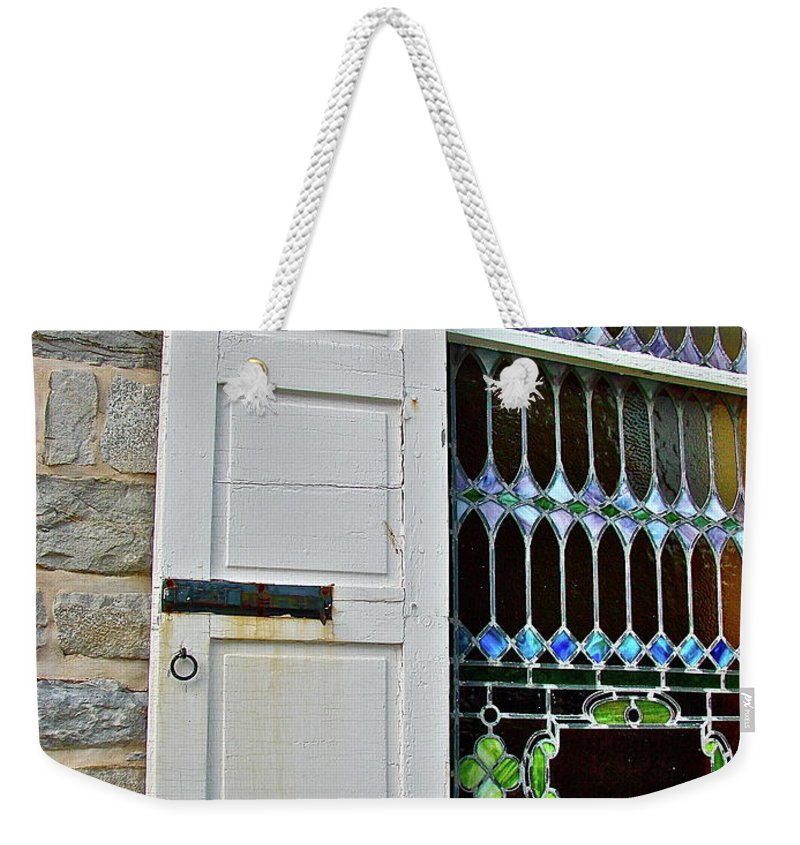 Country Weekender Tote Bag featuring the photograph Holy Art by Diana Hatcher