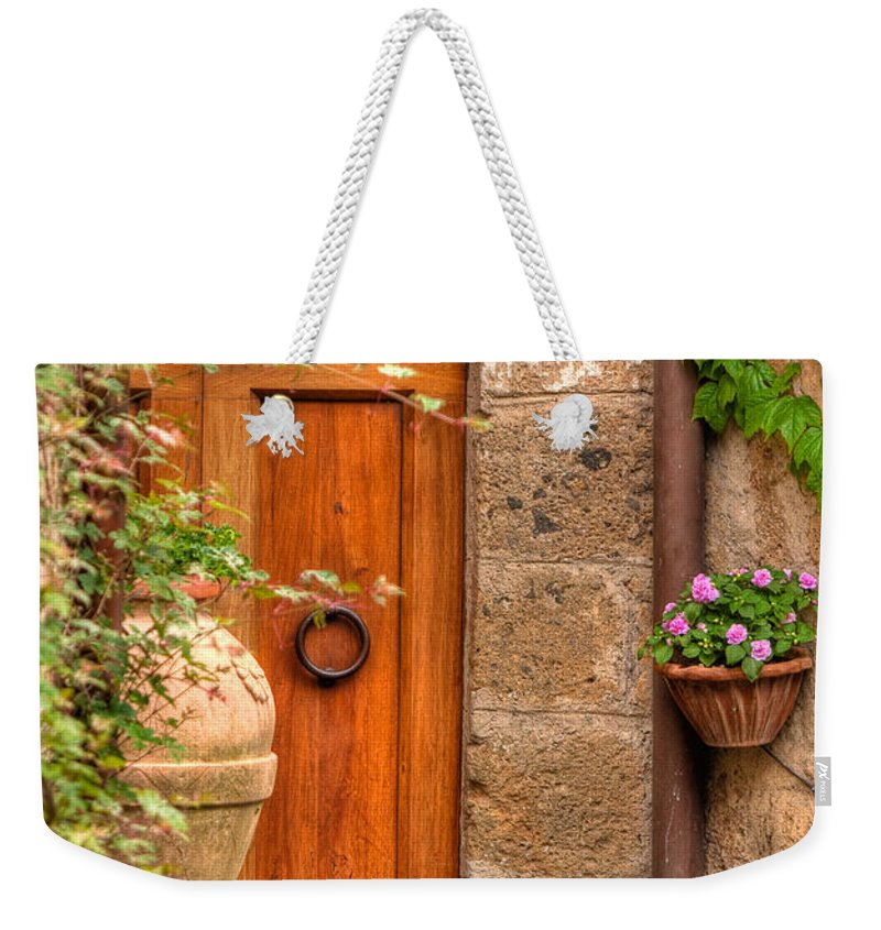 Italy Weekender Tote Bag featuring the photograph Home by Colette Panaioti