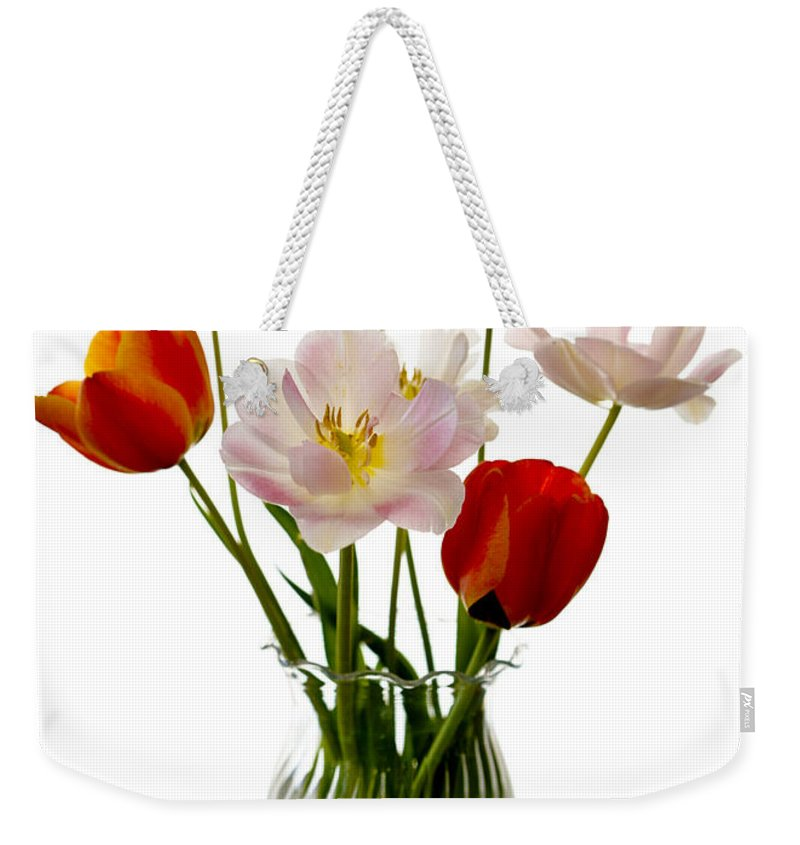 Flower Weekender Tote Bag featuring the photograph Home Grown by Marilyn Hunt