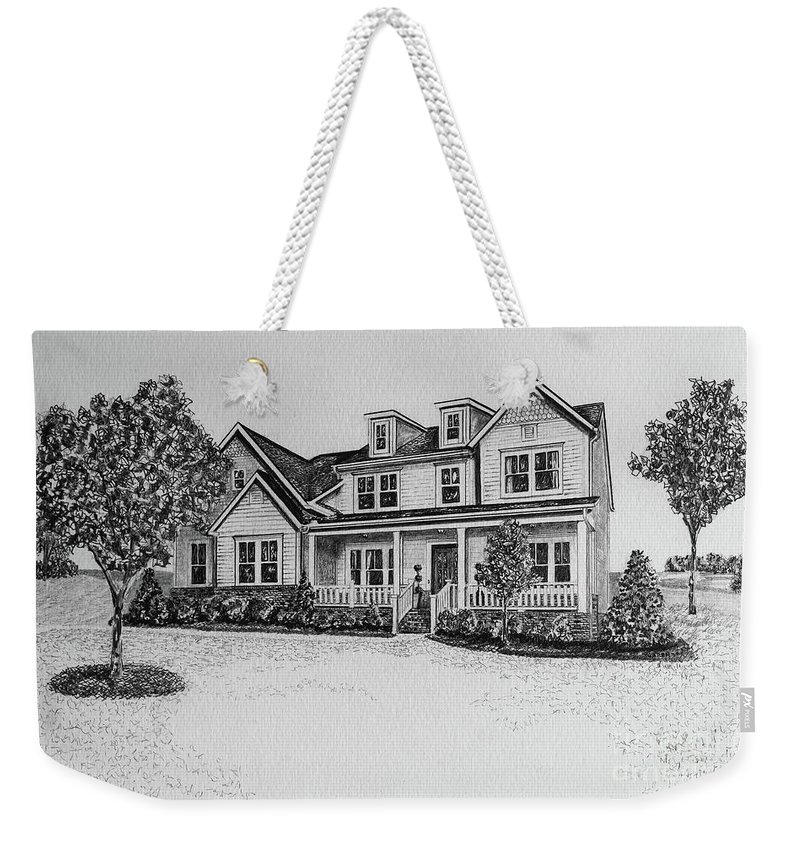 Home Weekender Tote Bag featuring the photograph Home Portrait 472017 by Robert Yaeger