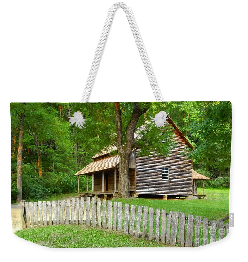 Home Weekender Tote Bag featuring the photograph Homestead by David Lee Thompson