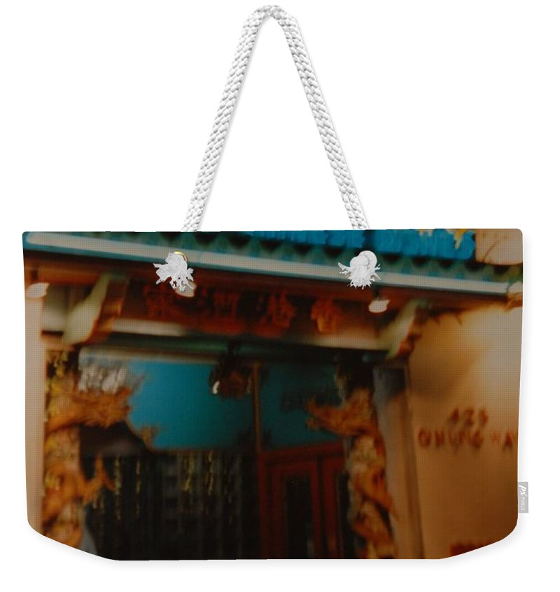 Los Angeles Weekender Tote Bag featuring the photograph Hong Kong by Rob Hans