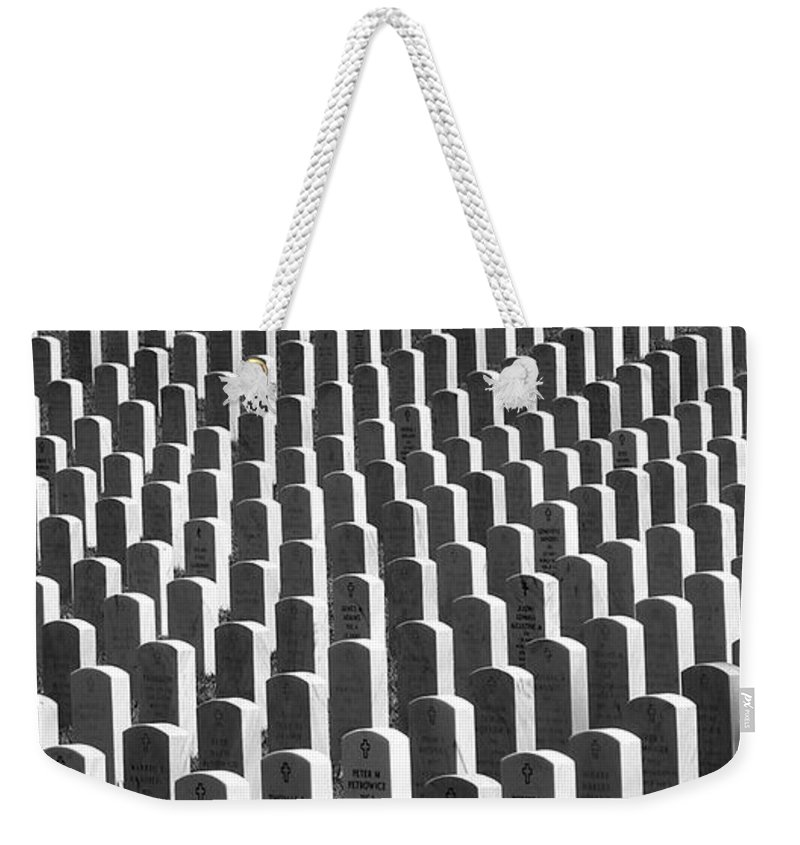 Graves Weekender Tote Bag featuring the photograph Honor Of Heroes by Richard Rizzo