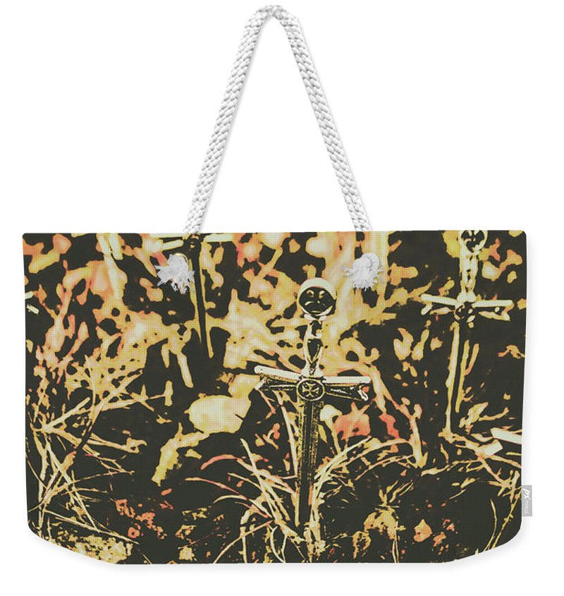 Cemetery Weekender Tote Bag featuring the photograph Honor Of The Fallen by Jorgo Photography - Wall Art Gallery