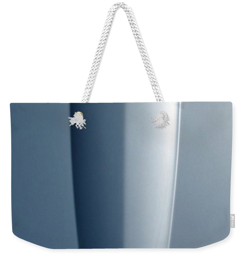 Corvette Weekender Tote Bag featuring the photograph Hood Up by Kelly Mezzapelle