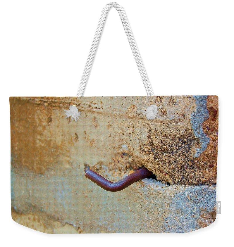 Metal Weekender Tote Bag featuring the photograph Hook by Debbi Granruth