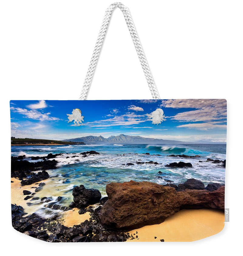 Ho'okipa Weekender Tote Bag featuring the photograph Hookipa Sunrise #3 by Nature Photographer