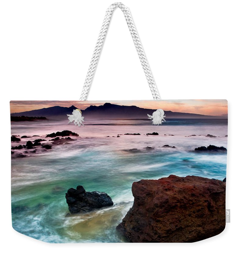 Hookipa Weekender Tote Bag featuring the photograph Hookipa Sunrise by Nature Photographer