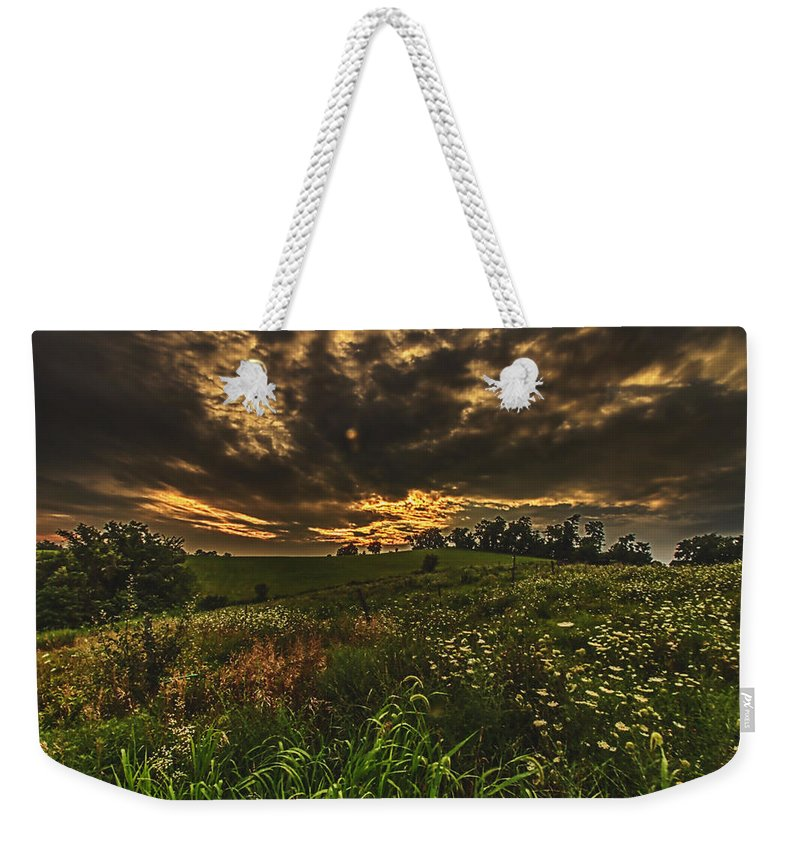 Storm Weekender Tote Bag featuring the photograph Hope by John Hannan