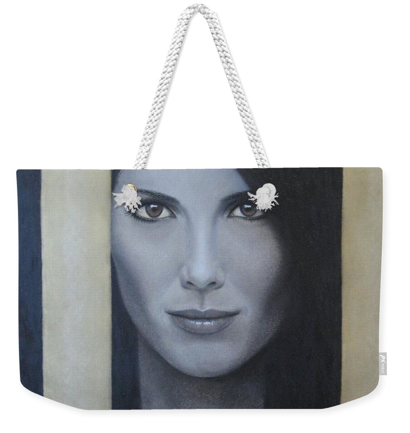 Hope Weekender Tote Bag featuring the painting Hope by Lynet McDonald