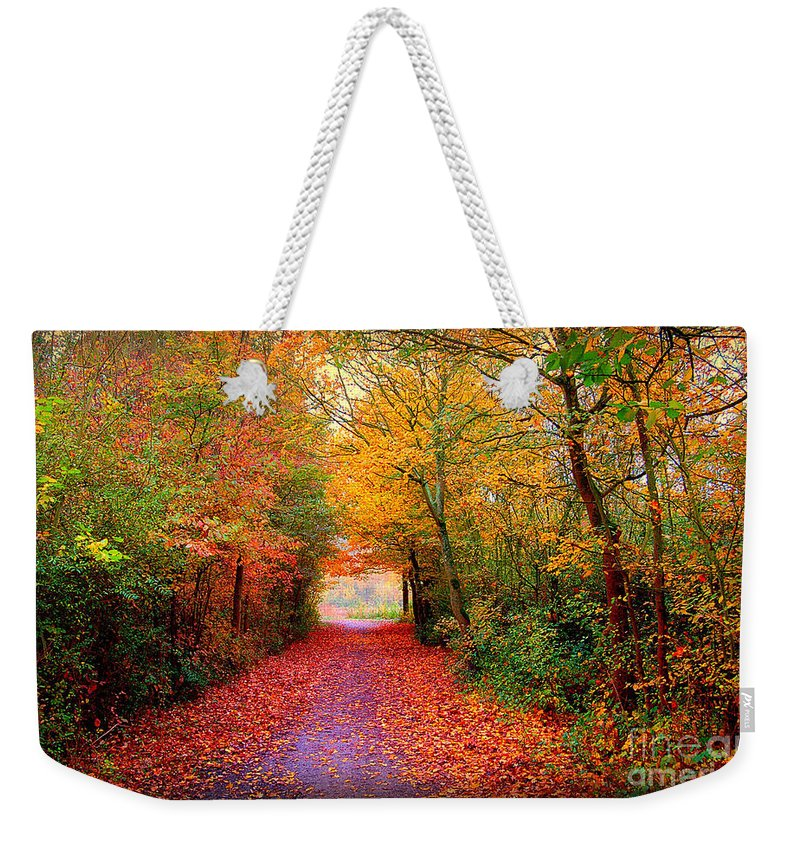 Autumn Weekender Tote Bag featuring the photograph Hope by Jacky Gerritsen