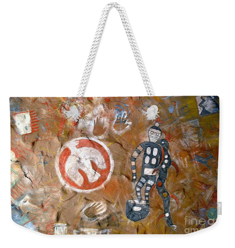Hopi Indians Weekender Tote Bag featuring the photograph Hopi Dreams by David Lee Thompson