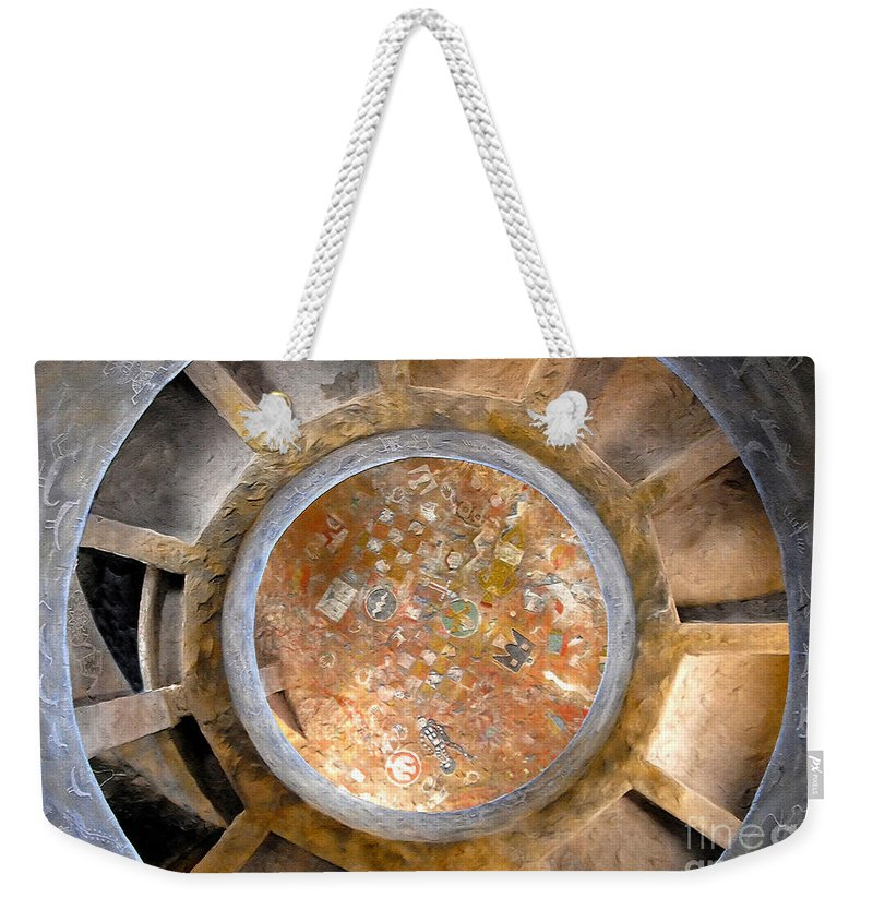Hopi Indians Weekender Tote Bag featuring the photograph Hopi Spirit Circle by David Lee Thompson