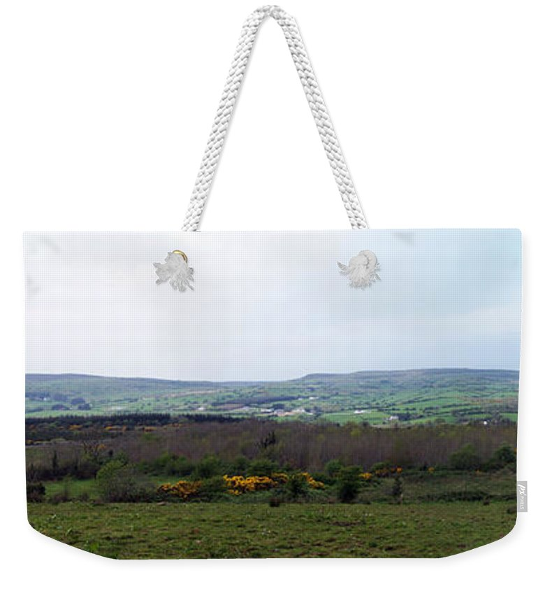 Ireland Weekender Tote Bag featuring the photograph Horses at Lough Arrow County Sligo Ireland by Teresa Mucha