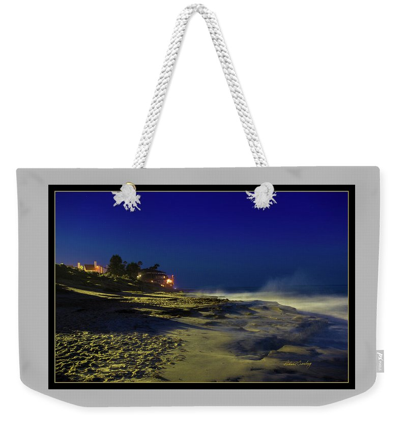 La Jolla Weekender Tote Bag featuring the photograph Hospital Reef 2 by Richard Cronberg