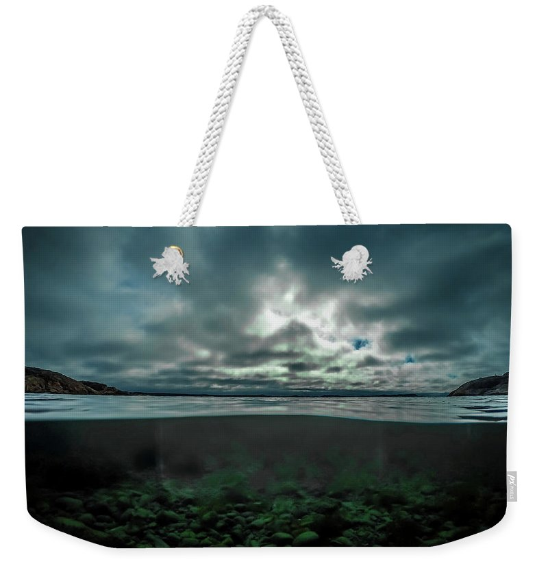 Underwater Weekender Tote Bag featuring the photograph Hostsaga - Autumn tale by Nicklas Gustafsson