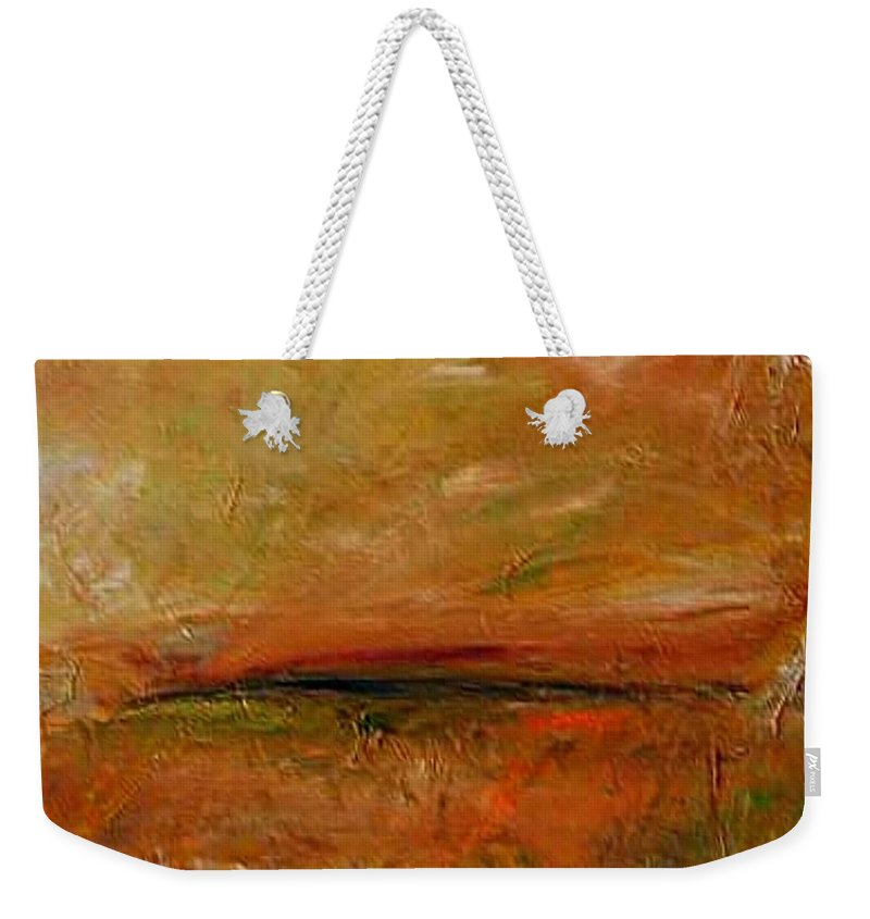 Hot Day Weekender Tote Bag featuring the painting Hot Day by Dragica Micki Fortuna