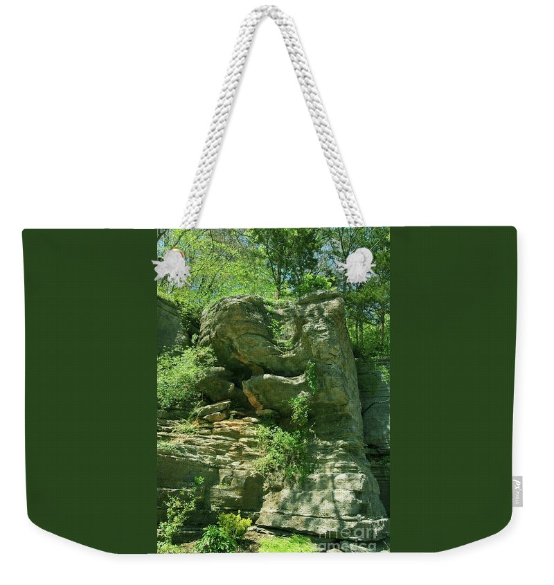Hot Weekender Tote Bag featuring the photograph Hot Springs by Kathleen Struckle
