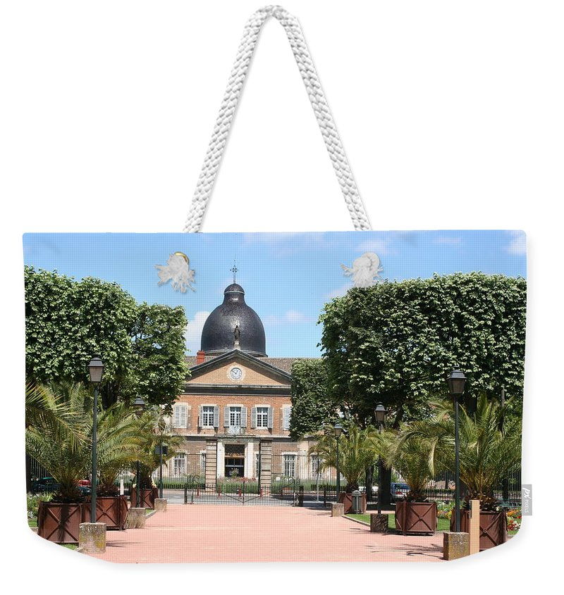Hospital Weekender Tote Bag featuring the photograph Hotel Dieu - Macon by Christiane Schulze Art And Photography