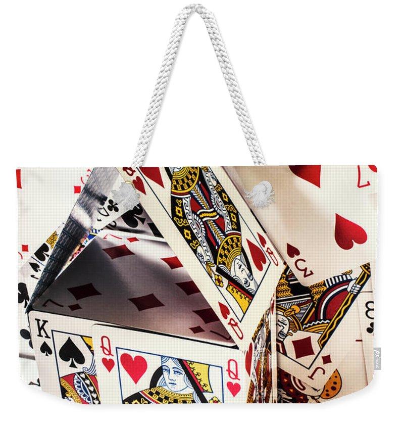 Risk Weekender Tote Bags