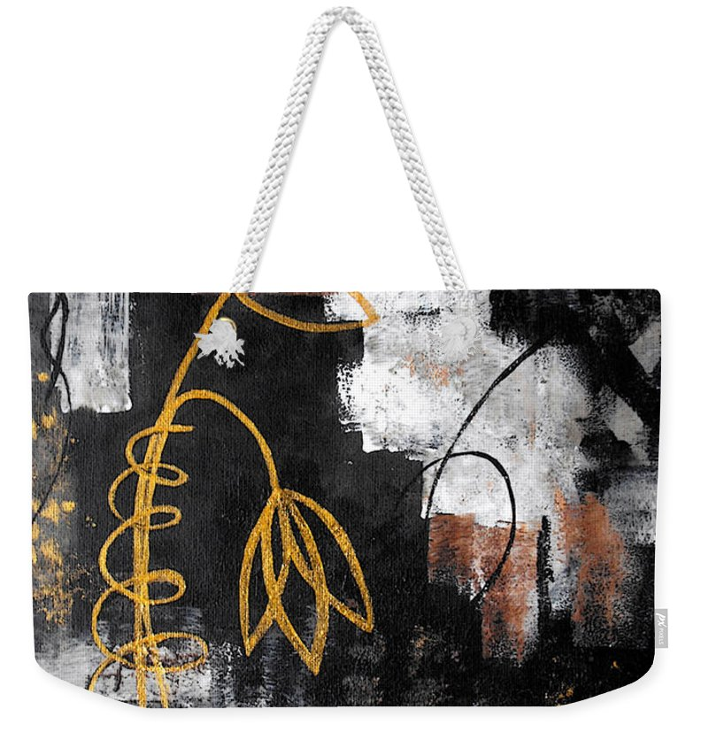 Abstract Weekender Tote Bag featuring the painting House Of Memories by Ruth Palmer