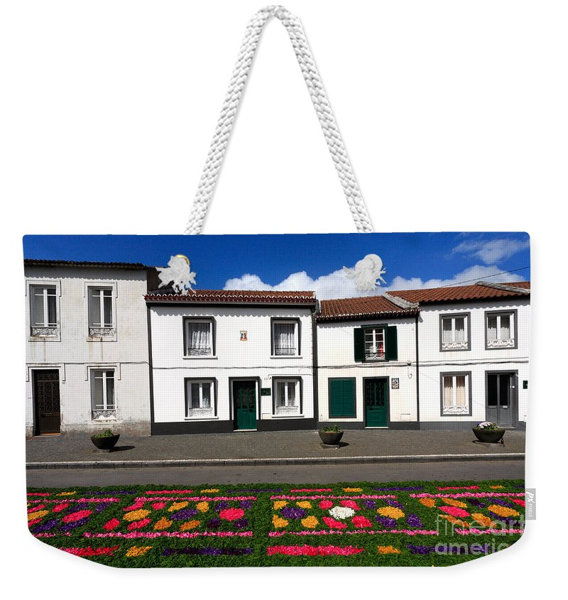 Azores Weekender Tote Bag featuring the photograph Houses In The Azores by Gaspar Avila