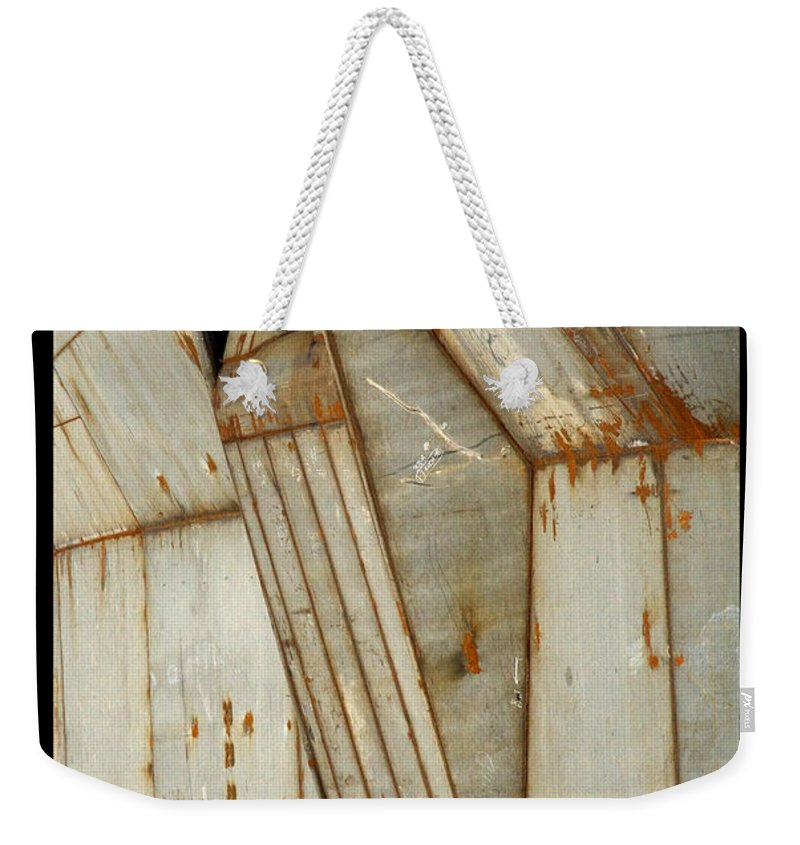 Hull Weekender Tote Bag featuring the photograph Hull Detail by Tim Nyberg