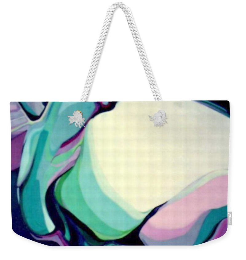 Hummingbird Weekender Tote Bag featuring the painting Hummer One by Marlene Burns