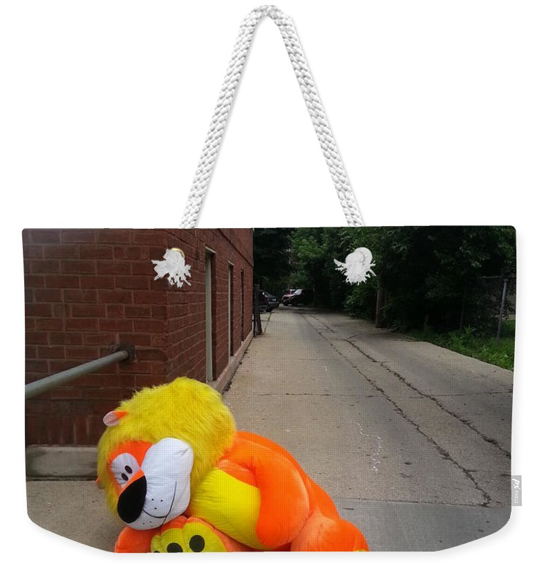 Weekender Tote Bag featuring the photograph Hungovers by Zac AlleyWalker Lowing
