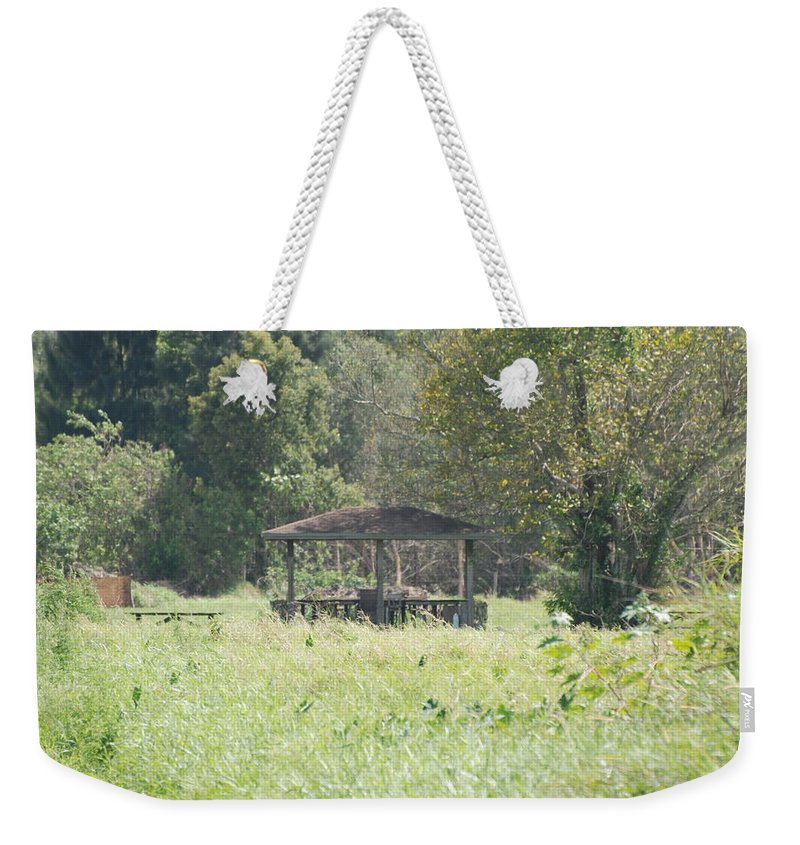 Grass Weekender Tote Bag featuring the photograph Huppa In The Fields by Rob Hans