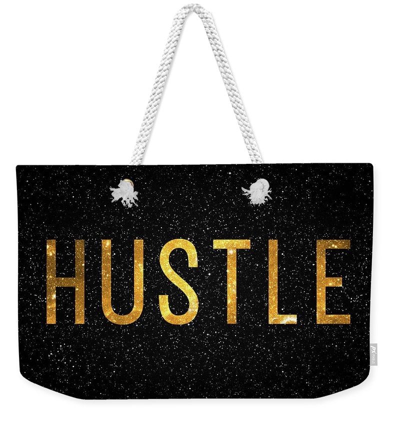 Hustle Weekender Tote Bag featuring the digital art Hustle by Zapista Zapista