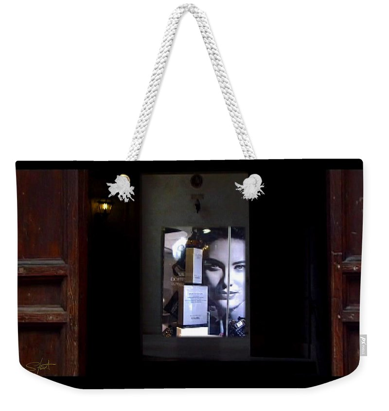 Dream Weekender Tote Bag featuring the painting Hypnos Rome by Charles Stuart