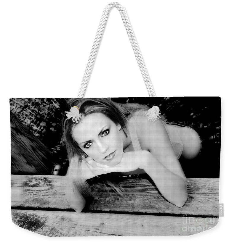 Clay Weekender Tote Bag featuring the photograph Hypnotic Eyes by Clayton Bruster
