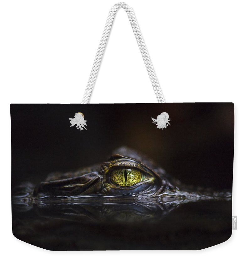 Alligator Weekender Tote Bags