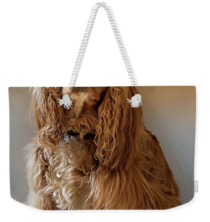 Animals Weekender Tote Bag featuring the photograph Royal Pose by Maria Coulson