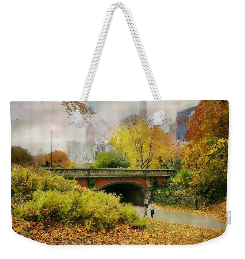 Landscape Weekender Tote Bag featuring the photograph I Call Your Name by Diana Angstadt