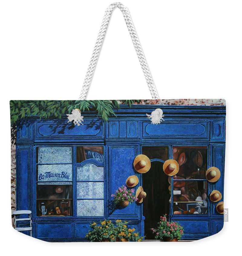 Shop Weekender Tote Bag featuring the painting I Cappelli Gialli by Guido Borelli