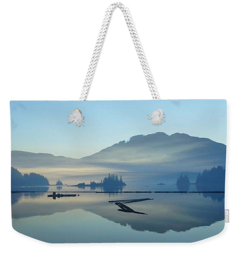 Ocean Weekender Tote Bag featuring the photograph I Dream Of Alice by Emma Twamley