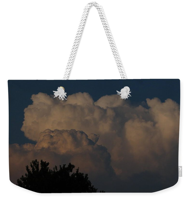 Patzer Weekender Tote Bag featuring the photograph I Want To Ride by Greg Patzer