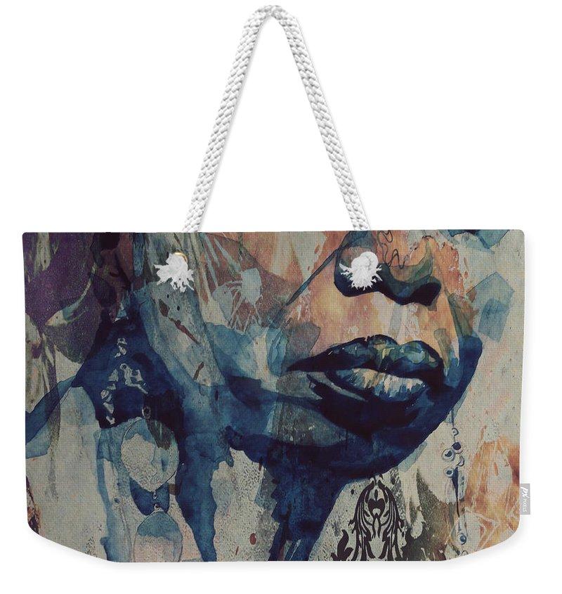 Soul Mixed Media Weekender Tote Bags