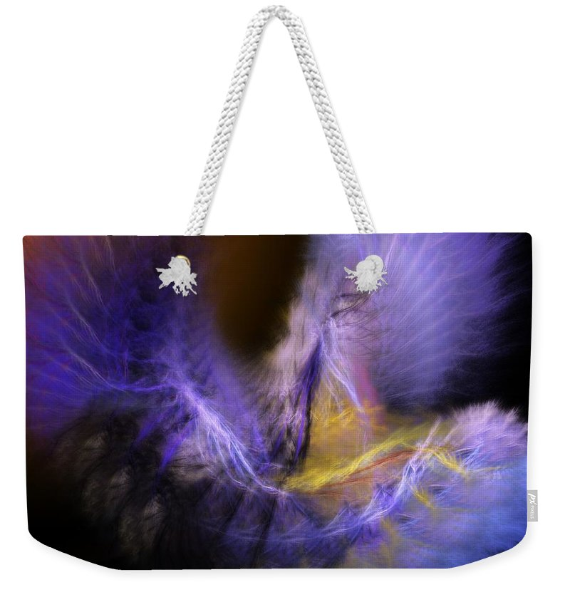 Fantasy Weekender Tote Bag featuring the digital art Icarus by David Lane