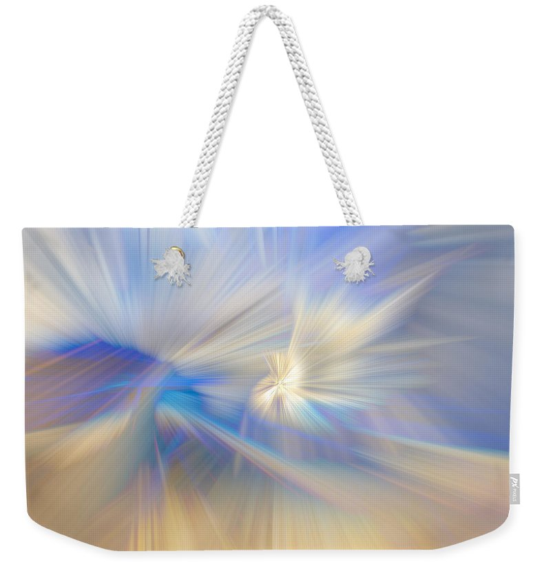 Indian Weekender Tote Bag featuring the photograph Ice Crystals by Debra and Dave Vanderlaan