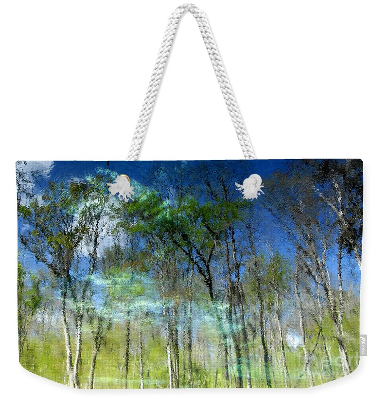 River Weekender Tote Bag featuring the photograph Ichetucknee Reflections by David Lee Thompson