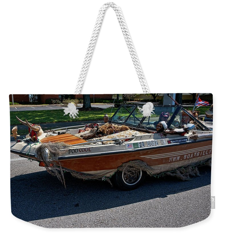 Boat Weekender Tote Bag featuring the photograph Identity Crisis II by Christopher Holmes