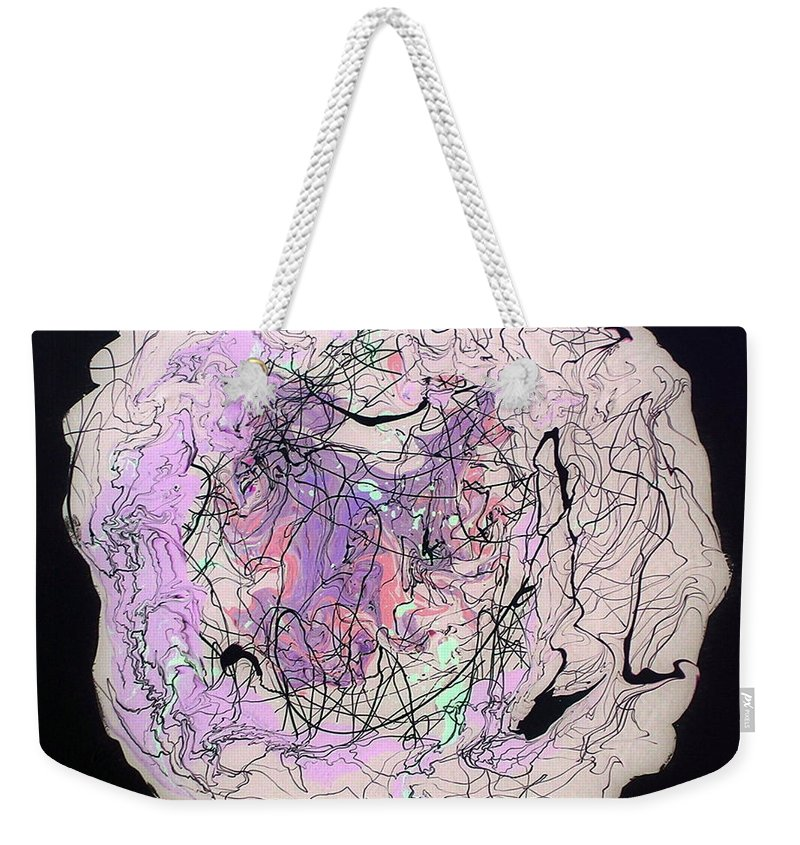I'll Be Dreaming Weekender Tote Bag featuring the painting I'll Be Dreaming by Dawn Hough Sebaugh
