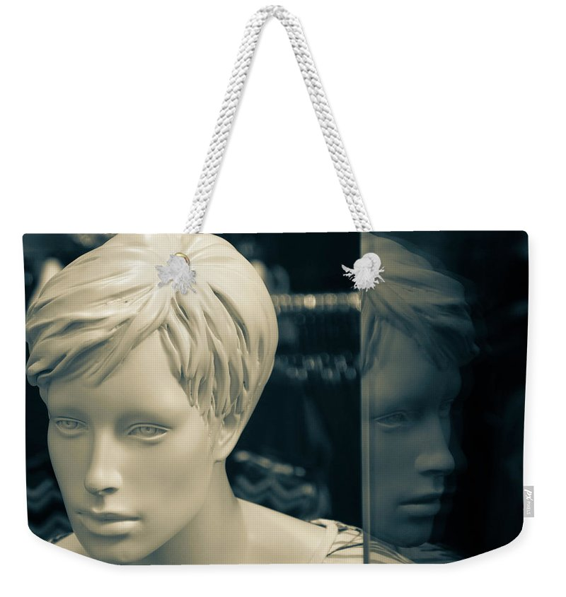 Saltaire Weekender Tote Bag featuring the photograph Ill Or Not by Jez C Self