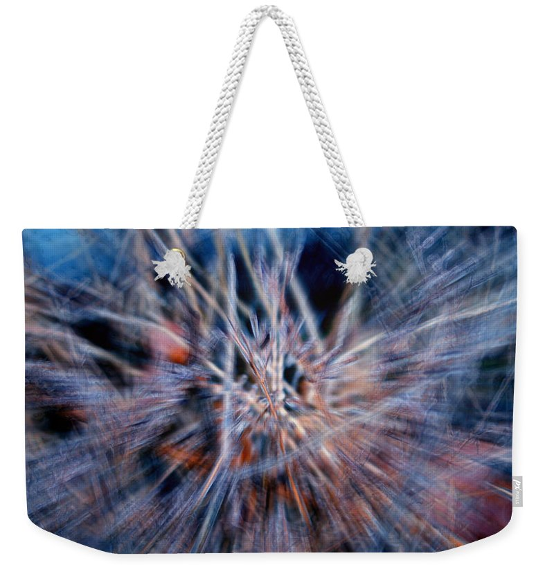 Abstracts Weekender Tote Bag featuring the digital art I'm Dreaming by Linda Sannuti