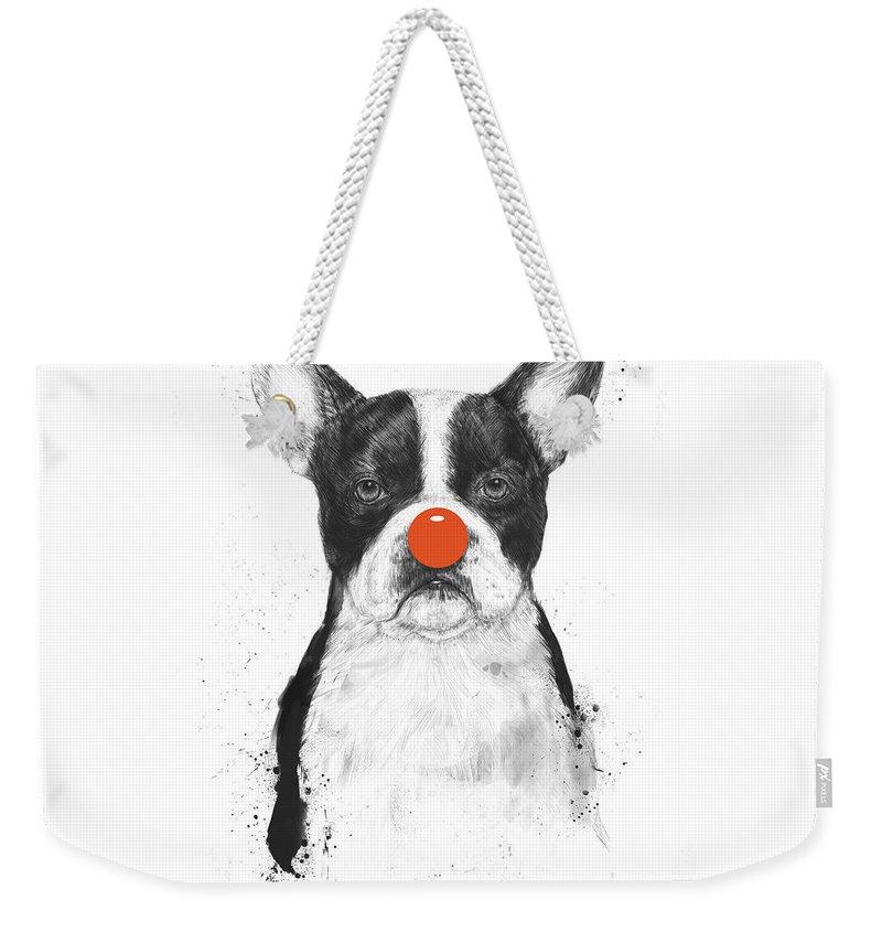 Clown Weekender Tote Bags